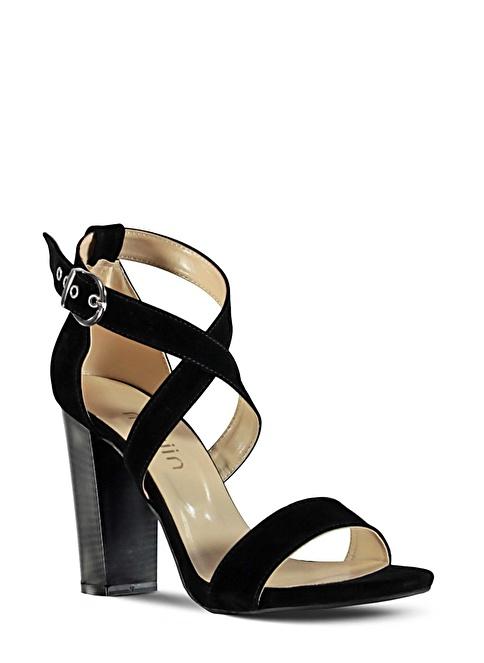 Marjin  Topuklu Ayakkabı Siyah